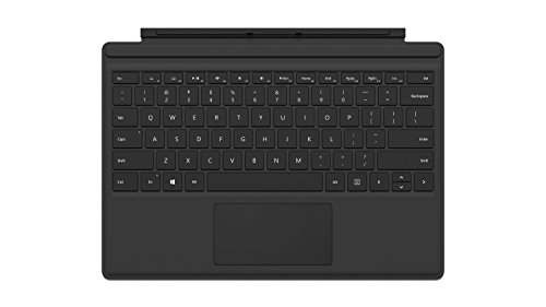 Microsoft QC7-00022 Surface Pro 4 Type Cover schwarz