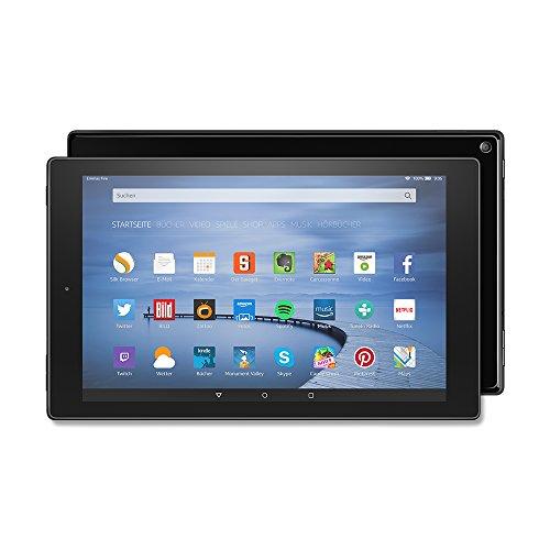 Fire HD 10-Tablet, 25,65 cm (10,1 Zoll), HD-Display, WLAN, 16 GB (Schwarz) - mit Spezialangeboten