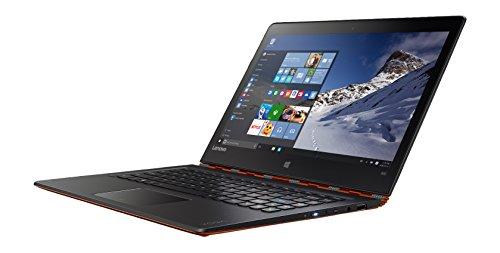 Lenovo Yoga 900 33,8 cm (13,3 Zoll QHD) Convertible Notebook (Intel Core i7-6500U, 16GB RAM, 256GB SSD, Intel HD Graphics 520, Windows 10) orange