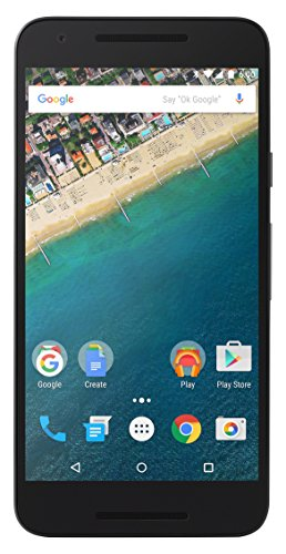 LG Nexus 5X Google Smartphone (13,2 cm (5,2 Zoll) IPS Display, 16 GB, Android 6.0 Marshmallow) Carbon