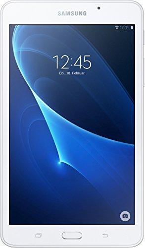 Samsung GALAXY Tab A (2016) 17,8 cm (7 Zoll) Tablet-PC (1,3 GHz Quad-Core, 1,5GB RAM, 8GB HDD, Wi-Fi, Android 5.1) weiß