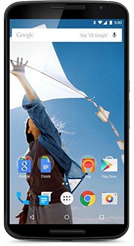 Motorola Nexus 6 Smartphone (6 Zoll (15,2 cm) Touch-Display, 64 GB Speicher, Android 5.0 Lollipop) weiß