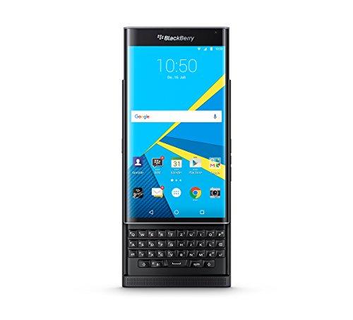 BlackBerry PRIV STV100-4 Smartphone (13,7 cm (5,4 Zoll) Display, 32GB Speicher, 18 Megapixel, Android 5.1) QWERTZ schwarz