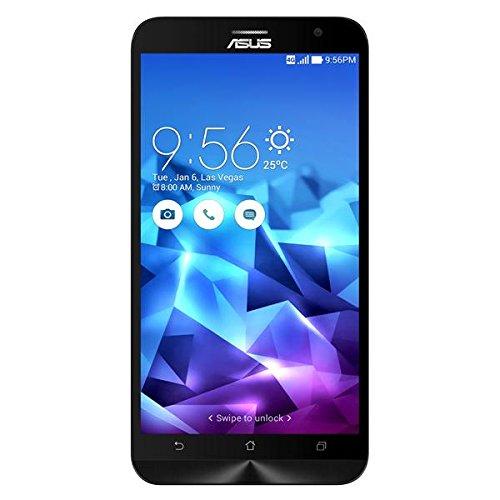 Asus ZenFone 2 ZE551ML Smartphone (14 cm (5,5 Zoll) FullHd Display, Intel Atom Z3580, 4GB Arbeitsspeicher, 128 GB Speicher, Android 5.0) violett