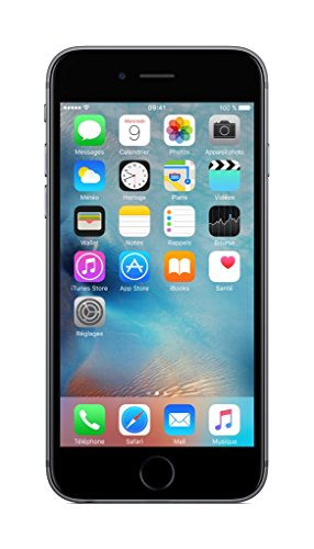 Apple iPhone 6s Smartphone (11,9 cm (4,7 Zoll) Display, 16GB interner Speicher, IOS) grey