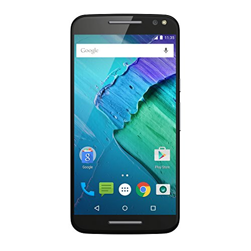 Motorola Moto X Style Smartphone (14,4 cm (5,7 Zoll), 32 GB Speicher, Android Lollipop 5.1.1) schwarz