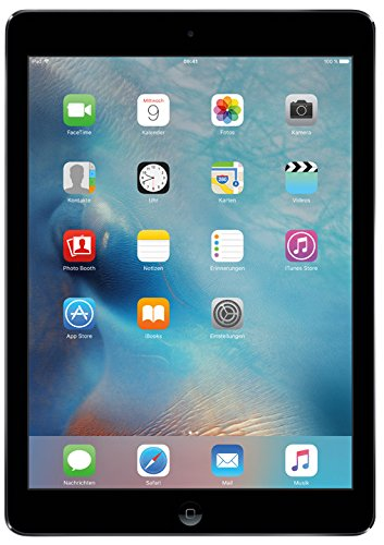 Apple iPad Air 2 24,6 cm (9,7 Zoll) Tablet-PC (WiFi, 16GB Speicher) spacegrau