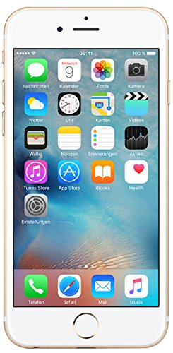 Apple iPhone 6s Smartphone (11,9 cm (4,7 Zoll) Display, 16GB interner Speicher, IOS) grey