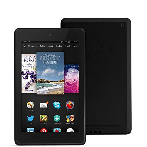 Fire HD 6, 15,2 cm (6 Zoll), HD-Display, WLAN, 8 GB  (Schwarz) - mit Spezialangeboten