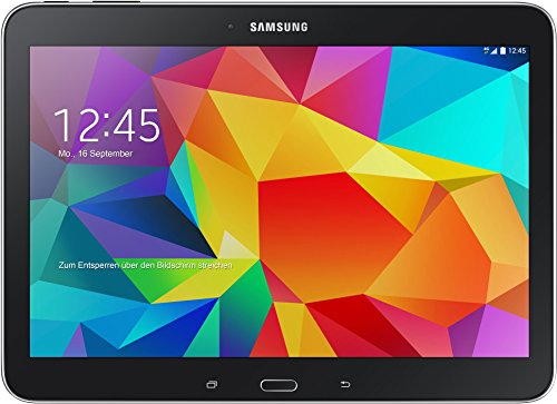 Samsung Galaxy Tab 4 10.1 WiFi 25,6 cm (10,1 Zoll) TabletPC (1,2GHz QuadCore, 1,5GB RAM, 16GB interner Speicher, Bluetooth 4.0, Android 4.4.2, EUStecker) schwarz