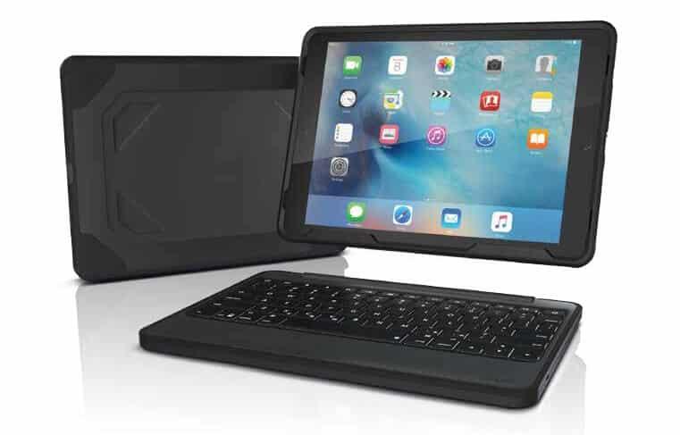 Zagg Pr 228 Sentiert Vier Neue Tastatur Cases F 252 R Das Ipad Pro
