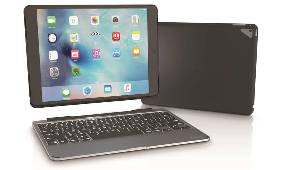 zagg pr sentiert vier neue tastatur cases f r das ipad pro. Black Bedroom Furniture Sets. Home Design Ideas