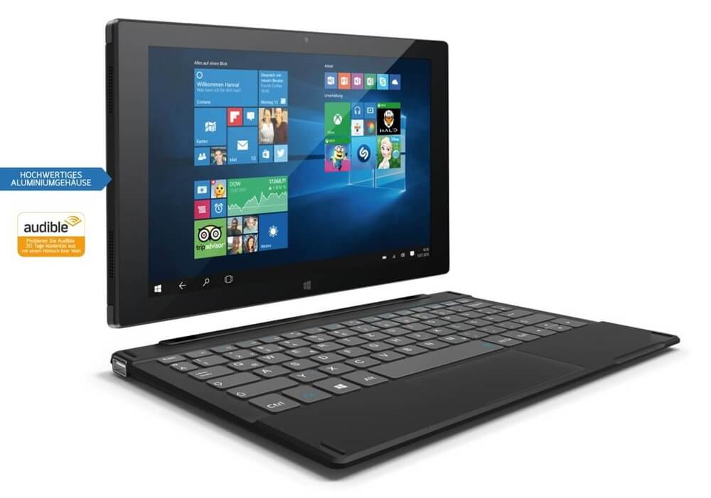 odys duo win 10 neues windows tablet mit tastatur dock. Black Bedroom Furniture Sets. Home Design Ideas