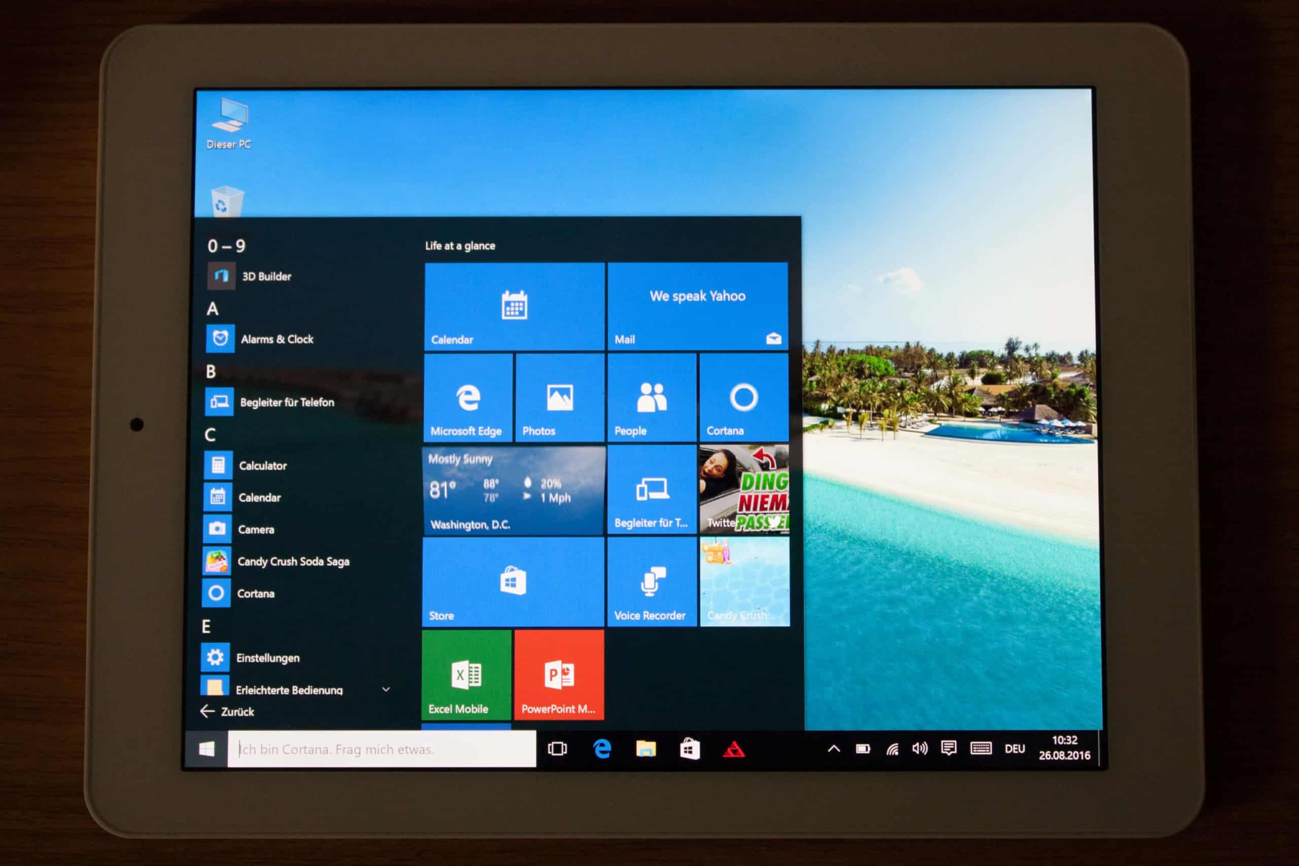 Windows Startmenü / PICTURE GROUP
