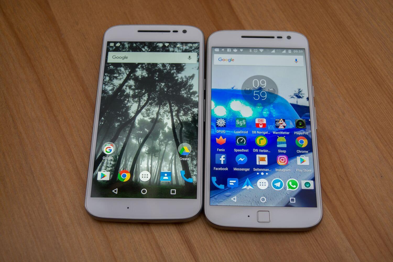 Moto G4 & Moto G4 Plus