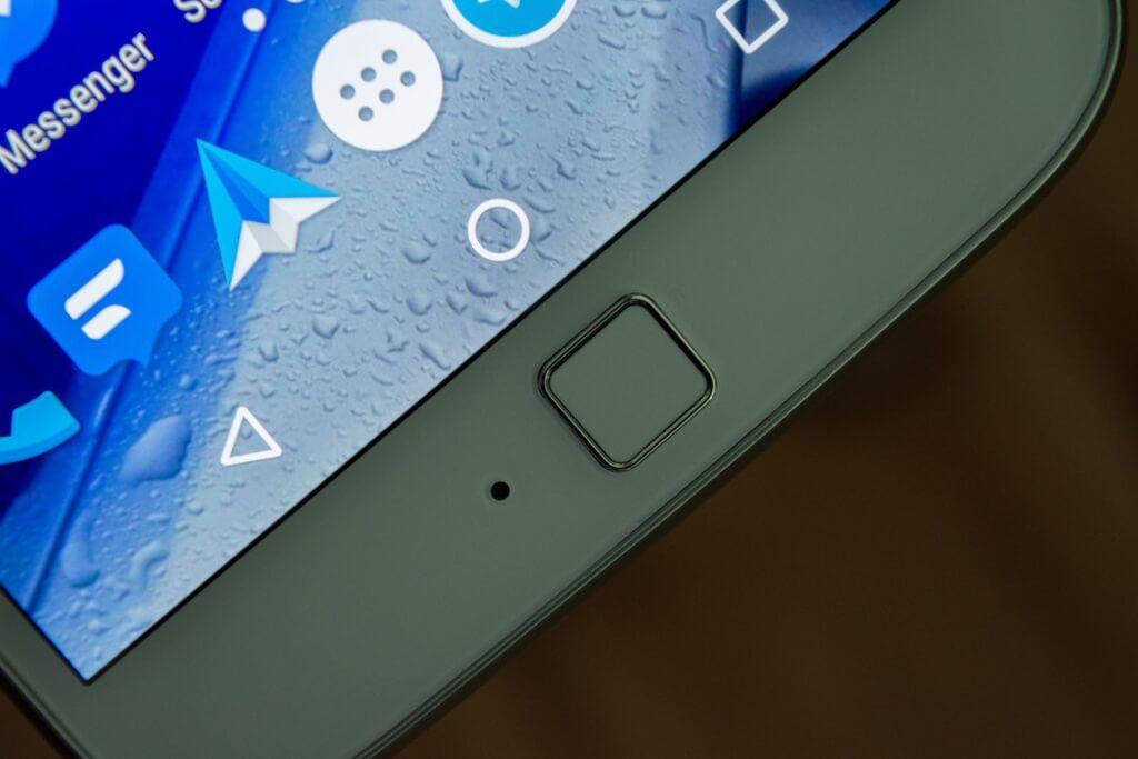 Moto G4 Plus Fingerabdruckscanner