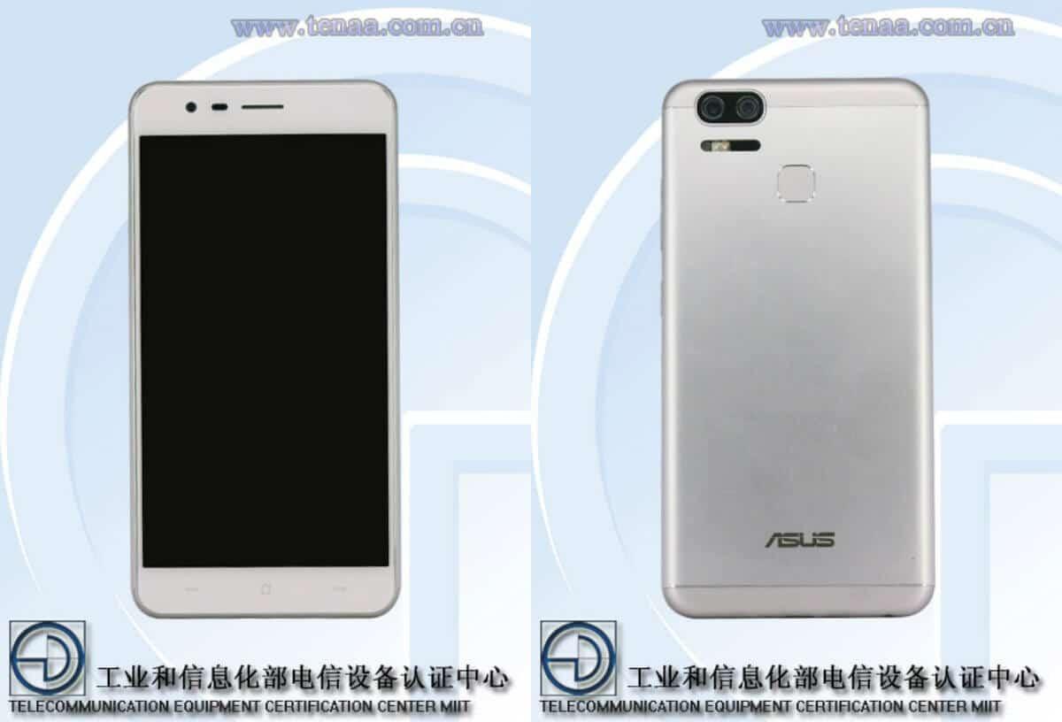 Asus ZenFone 3 Zoom TENAA, Bild: Screenshot