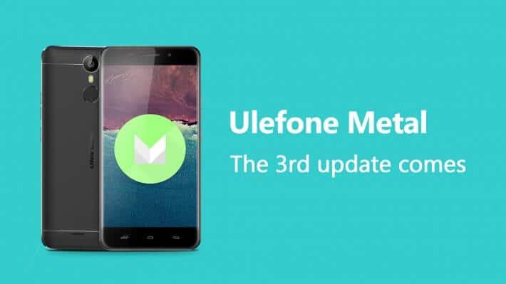 Drittes Update für Metal, Bild: Ulefone