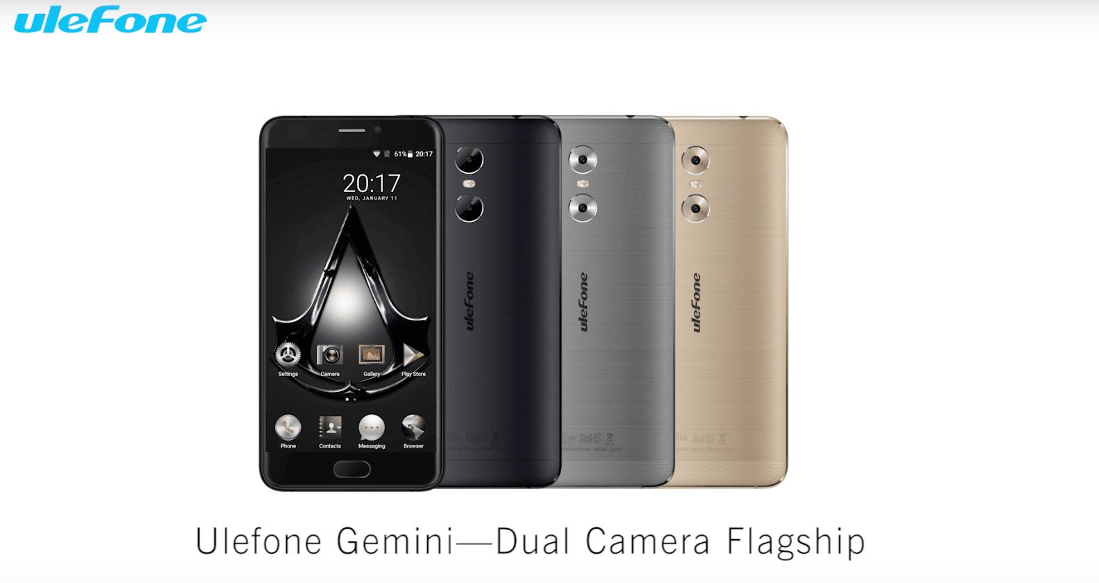 Gemini, Bild: Ulefone