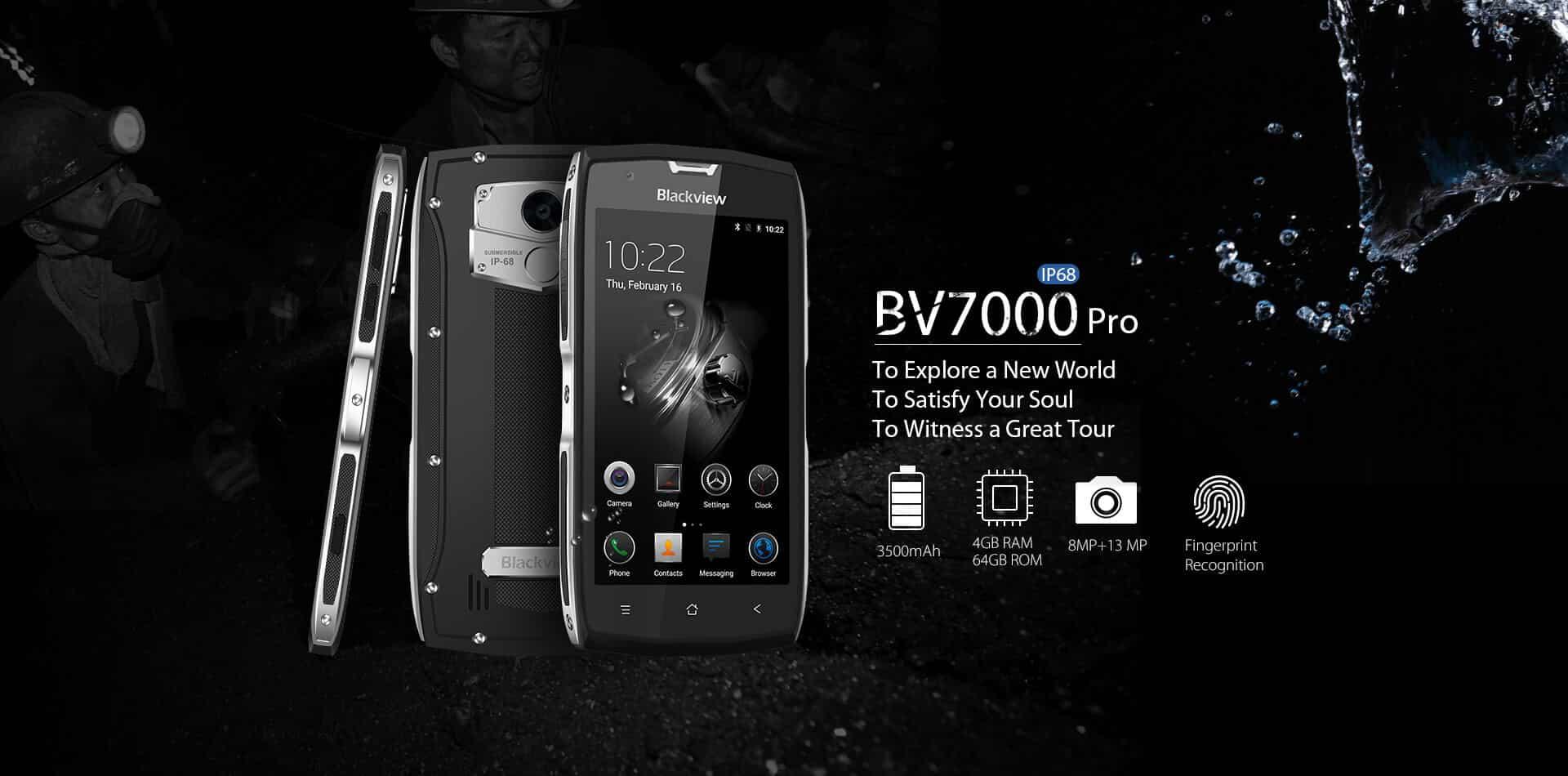 BV7000 Pro, Bild: Blackview
