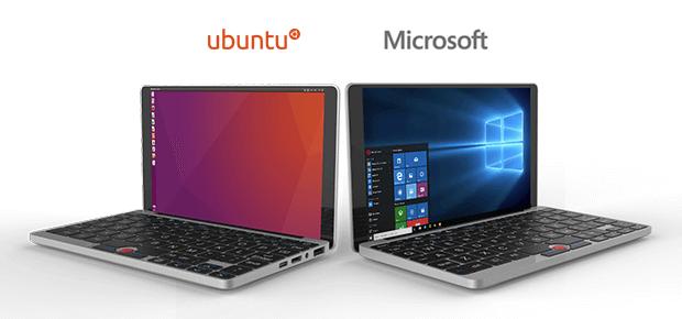 GPD Pocket mit Windows oder Ubuntu, Bild: GPD