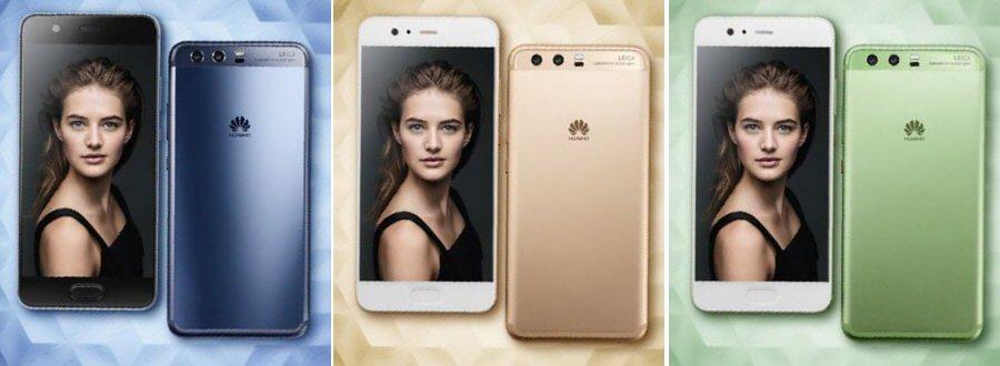 Huawei P10 Farben, Bild: Evleaks