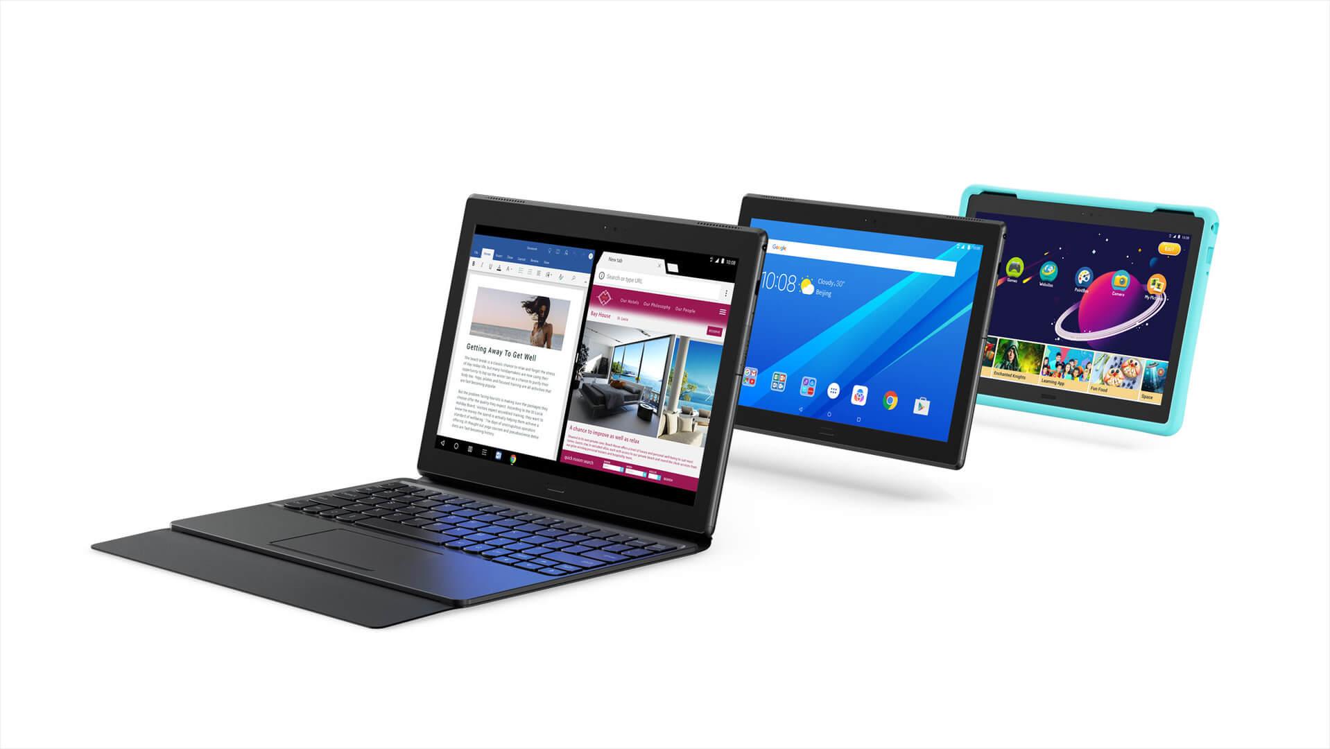 Tab 4 10 Plus, Bild: Lenovo