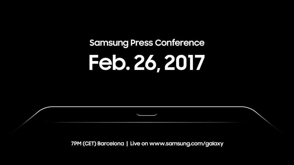 MWC 2017 Teaser, Bild: Samsung