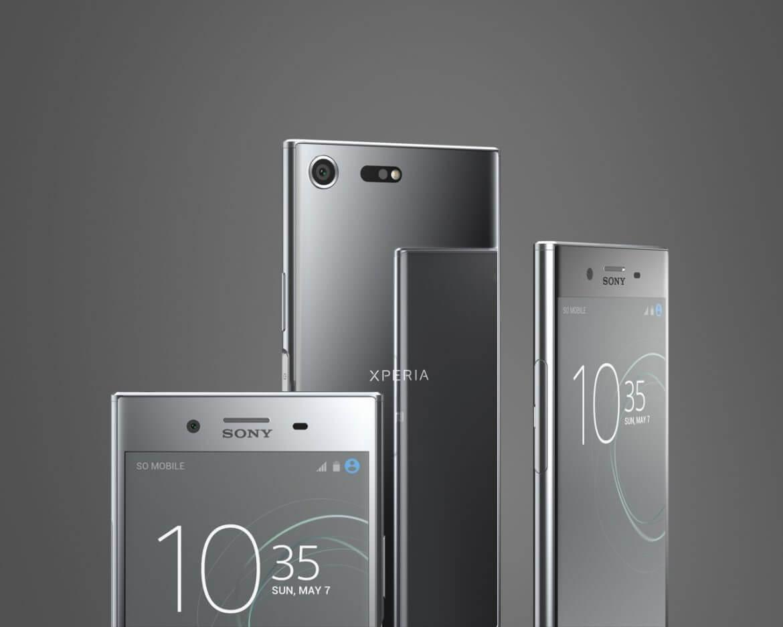 XZ Familie, Bild: Sony