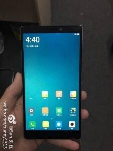 Xiaomi Mi 6, Bild: Weibo
