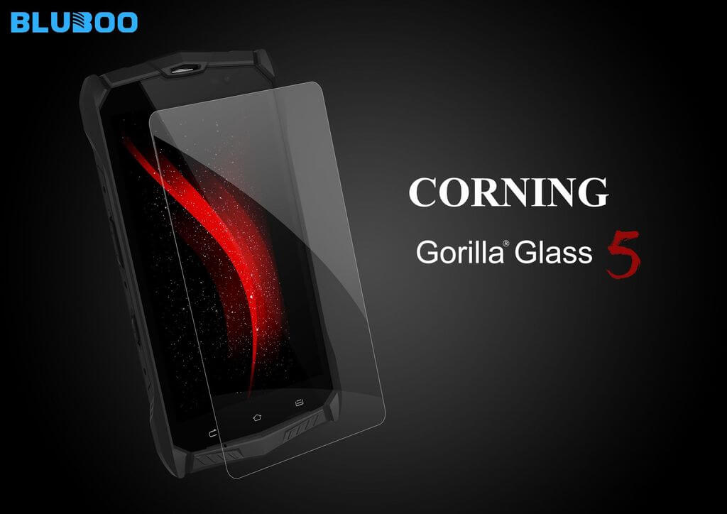 Bluboo R1 mit Corning Gorilla Glass 5, Bild: Bluboo