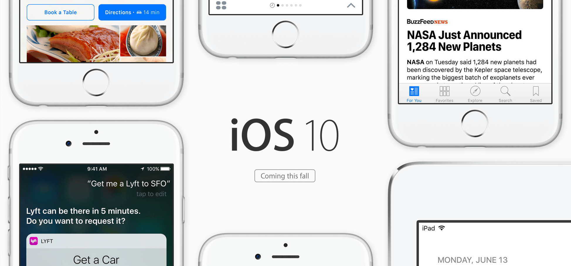iOS 10, Bild: Apple