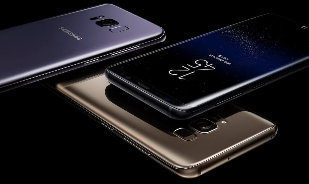 Samsung Galaxy S8, Bild: Samsung