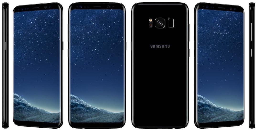 Galaxy S8, Bild: Samsung
