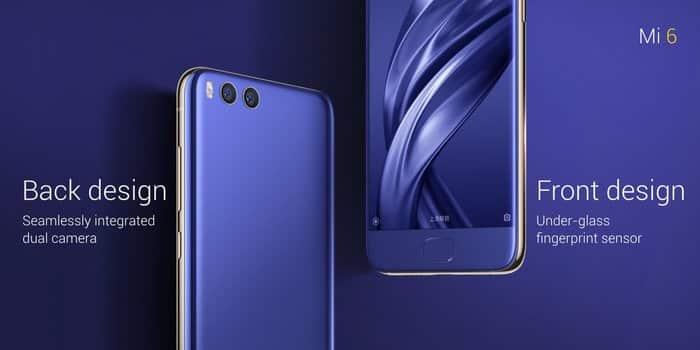 Mi 6 Blau, Bild: Xiaomi