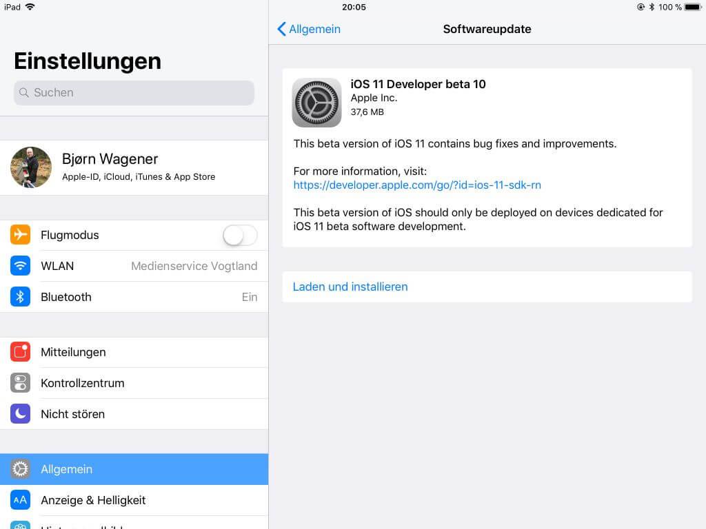 Apple TV 4: tvOS 11 Beta 10 für Entwickler veröffentlicht
