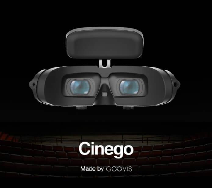 Goovis Cinego 4K-Headset