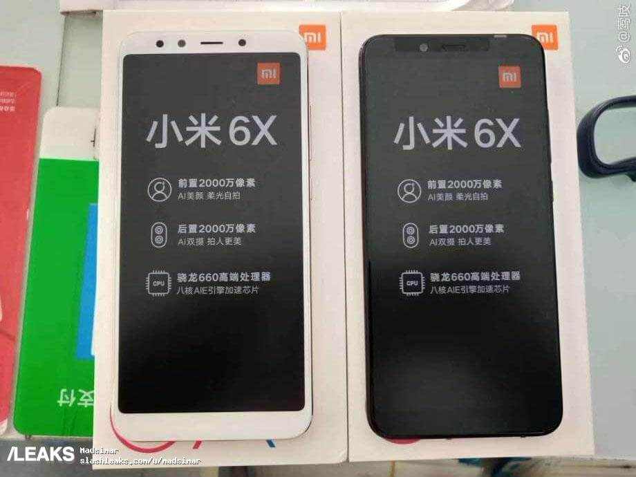 Das ist das neue Xiaomi Mi 6X mit Snapdragon 660