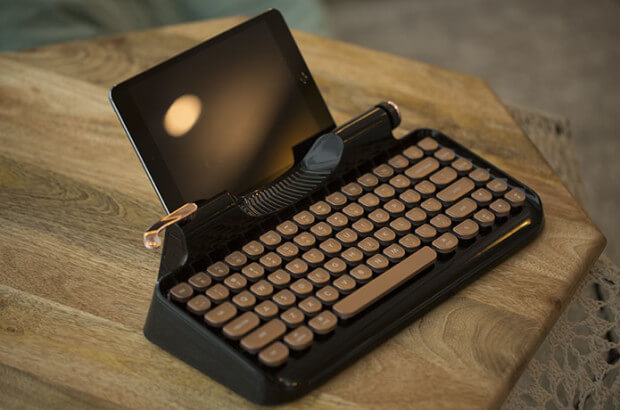 Rymek Retro Bluetooth Keyboard