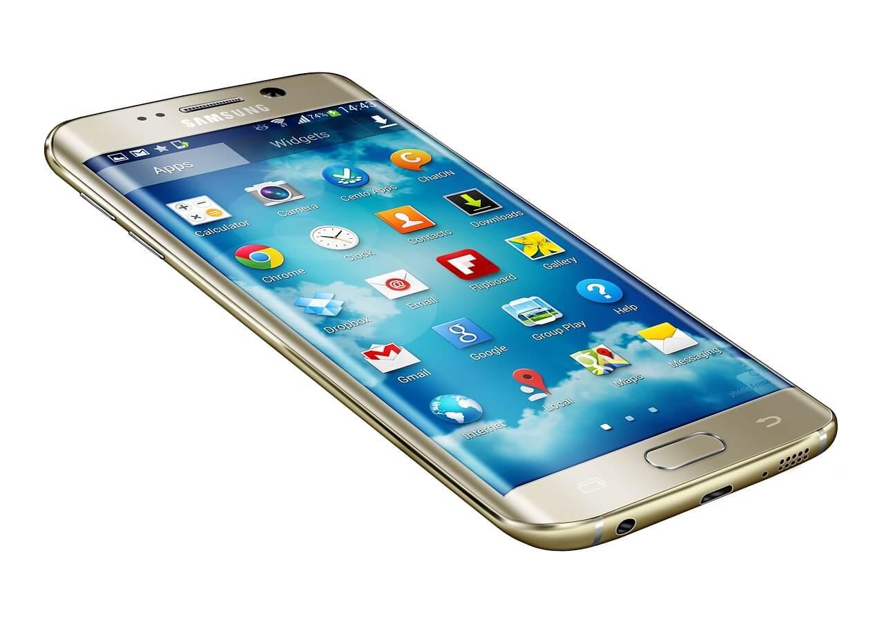 Samsung Falt-Smartphone