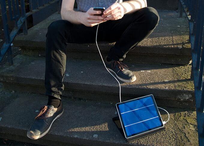 Solartab Solar-Ladegerät