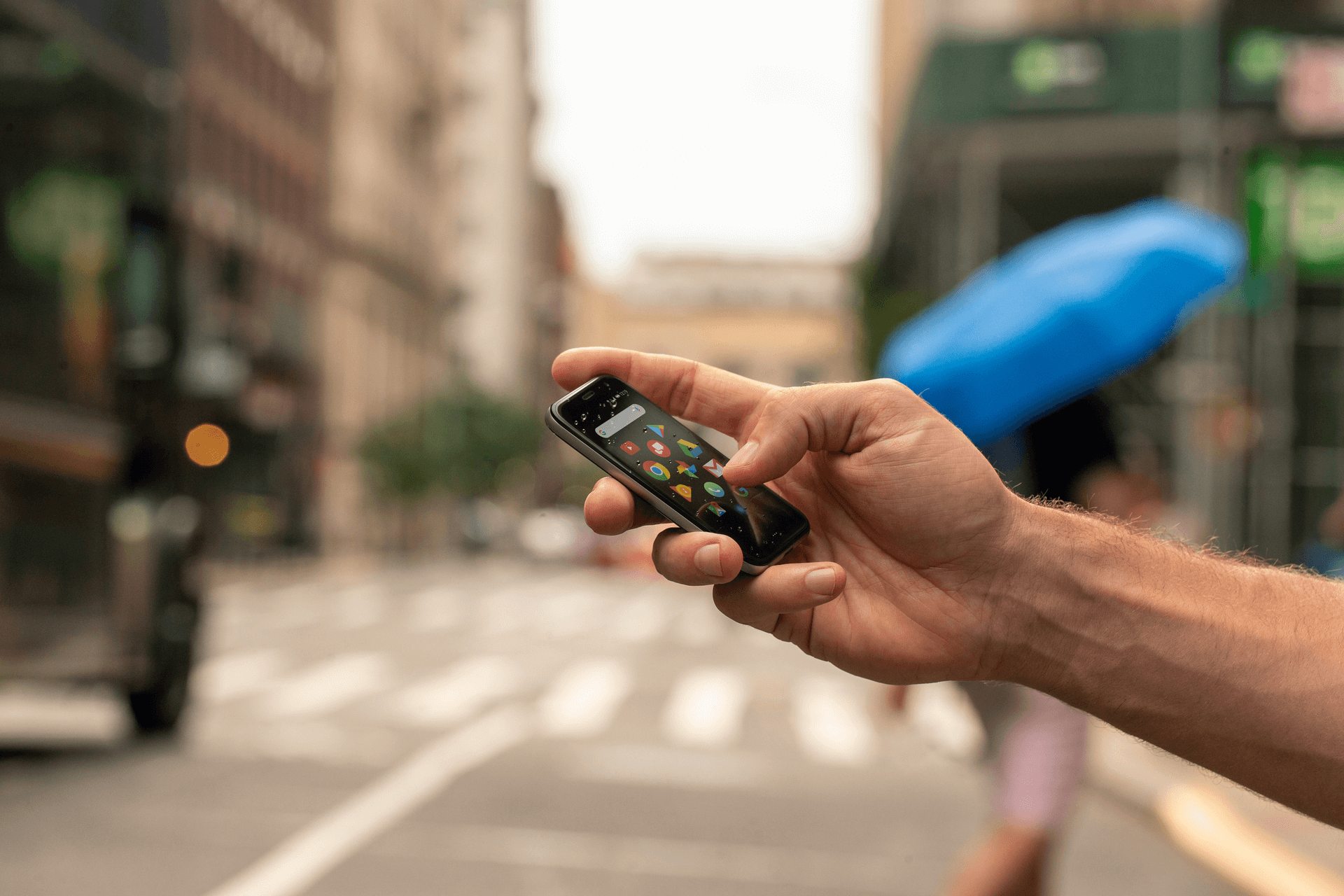 Palm Mini-Smartphone